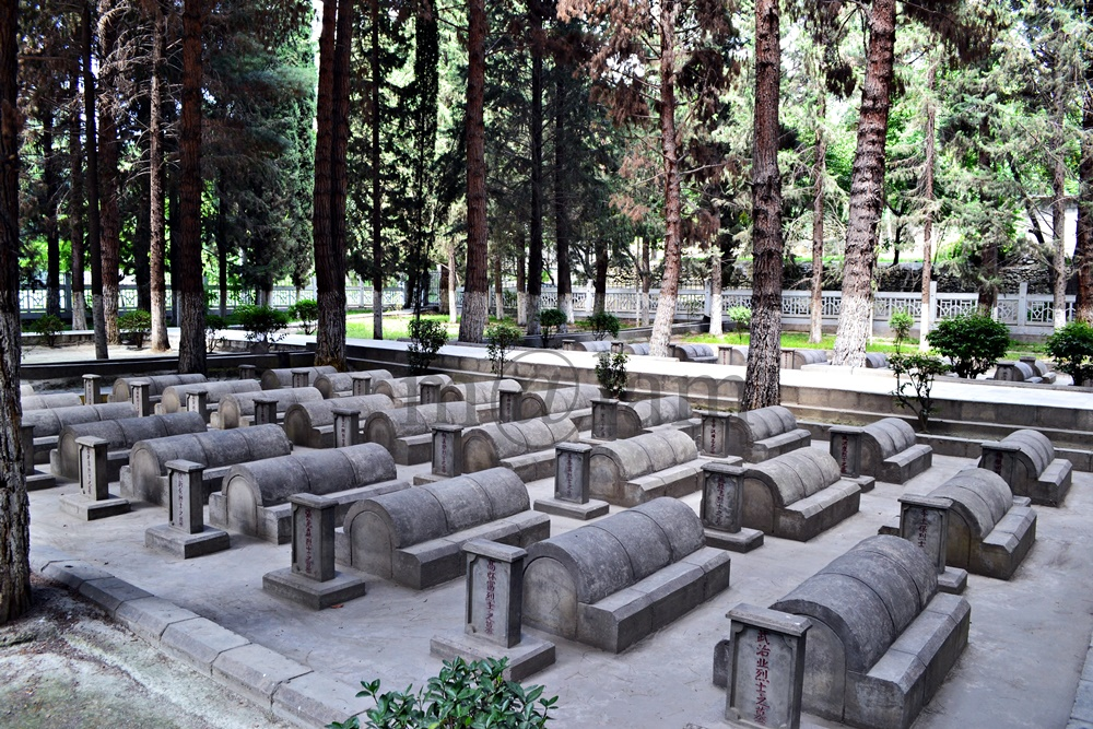 chinese graveyard in danyore