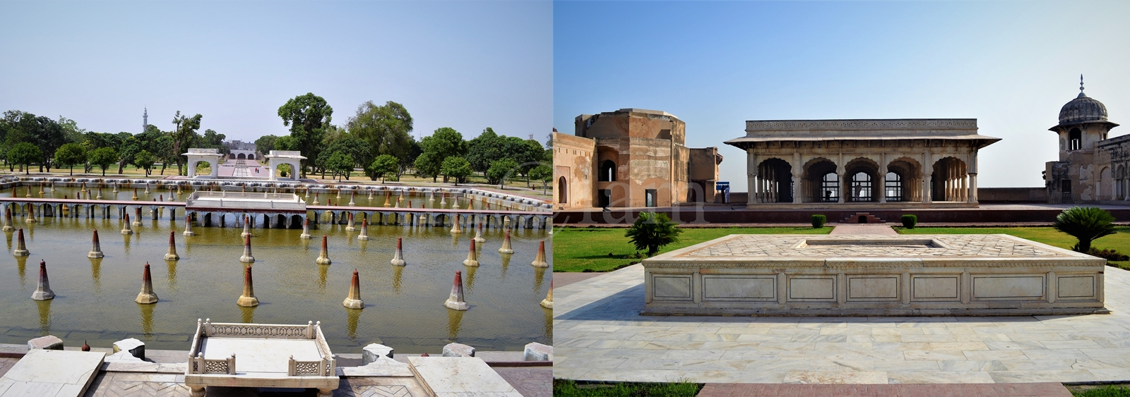 Lahore Fort and Shalimar Garden