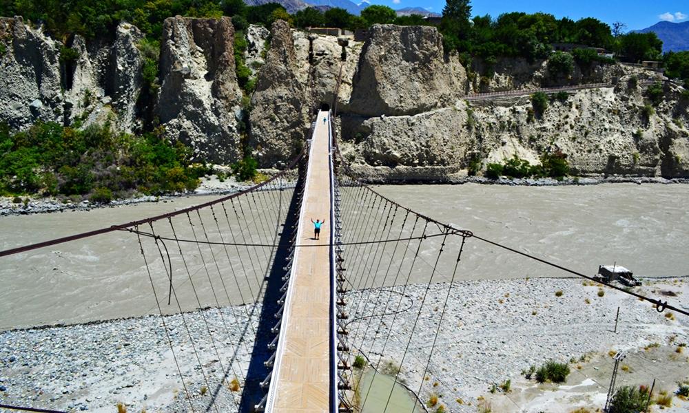 Danyore Suspension Bridge