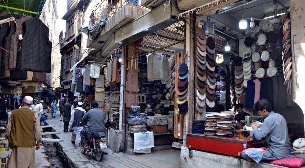 Chitrali Bazaar, Peshawar